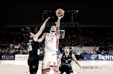 Legabasket Serie A - Al via la finale scudetto: la corazzata Milano ospita la cenerentola Trento