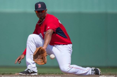 Xander Bogaerts homered and drive in four Sunday.