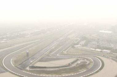 Mal tempo prejudicou novamente as atividades do GP da China (foto: Formula 1)