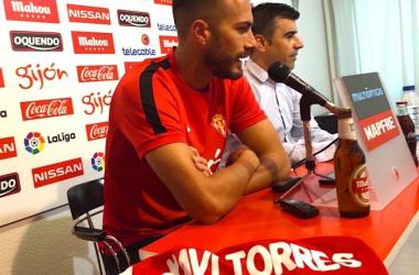 La trayectoria de Xavi Torres hasta llegar al Sporting