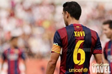 Xavi Hernández pasará a ser leyenda viva del fútbol, y sobre todo, del barcelonismo / Foto: Carla Cortés (VAVEL España)