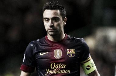 Xavi en su época en el FC Barcelona (Fuente: FCB)