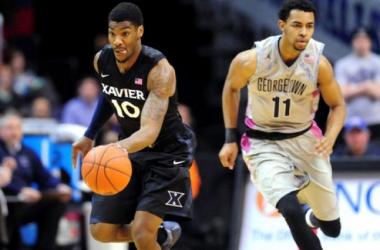 Xavier Sweeps Season Series With Win At Georgetown