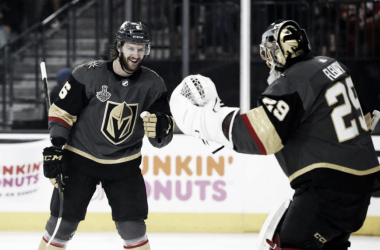 Miller y Fleury celebran la victoria | Midland Daily news