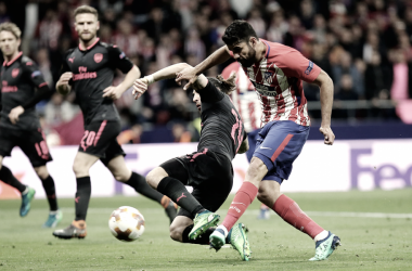 La pizarra de Simeone: el esquema habitual lleva al Atleti a Lyon