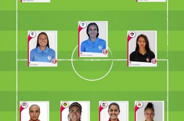 XI de la semana de la Jornada 13 de la Liga MX Femenil