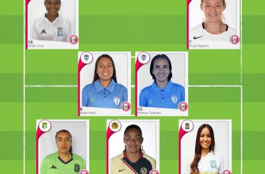 Equipo de la semana 16Liga MX Femenil