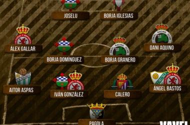 Fotomontaje de Mateo Villalba para el Grupo I de Segunda División 'B' | VAVEL.com)