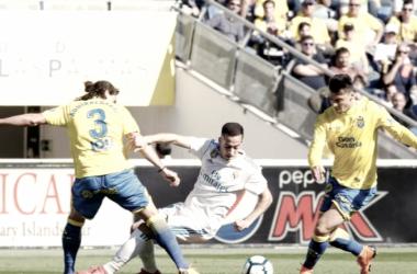Ximo Navarro con la camiseta del Las Palmas. / Foto: LaLiga