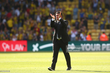 Xisco Munoz's Watford side head to North London this weekend to face Tottenham Hotspur in the Premier League. | Charlie Crowhurst / Getty Images