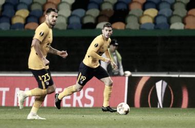 El Atlético de Madrid descarta que Lucas Hernández sufra una fractura en el pómulo