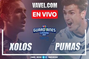 Resumen del Xolos Tijuana 0-0 Pumas en Liga MX Guard1anes 2021