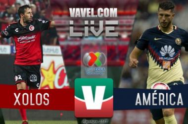 Resultado y goles del Xolos 1-1 América en la Liga MX 2017