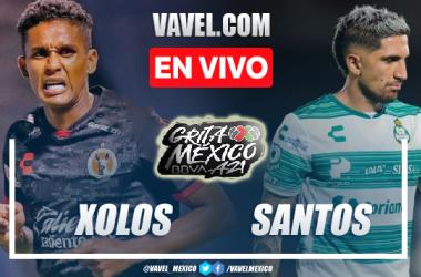 Goles y resumen del Tijuana 2-1 Santos en Liga MX 2021