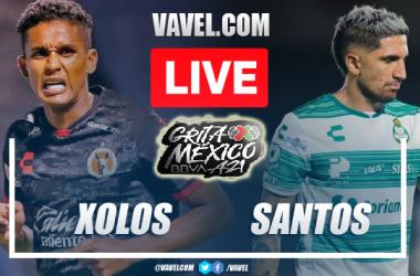 Goals and Highlights: Tijuana 2-1 Santos in Liga MX 2021