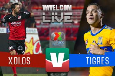 Resultado y goles del Xolos 0-1 Tigres en Liga MX 2017