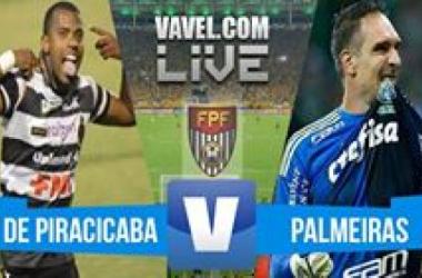 Resultado XV de Piracicaba x Palmeiras no Campeonato Paulista 2016 (1-4)