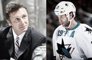 Alta tensión entre jugador y manager general de los Sharks | Foto:si.com