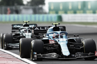 Ocón perseguido por Vettel | Foto: Fórmula 1