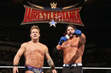 Chris Jericho and AJ Stles aka Y2AJ (image: solowrestling.com)