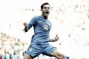 Mejor jugador del Grupo E de la segunda jornada: Coutinho lidera a la Canarinha