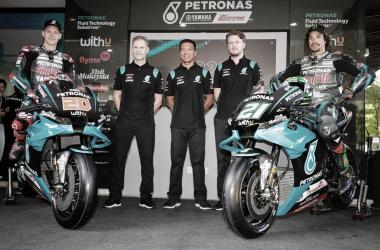 Presentación Petronas Yamaha SRT 2020 | Foto: MotoGP.com