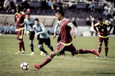 Herrera en el Sudamericano sub-20. FOTO: Visionnoventa