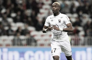 Yann Karamoh con la maglia del Caen | alfredopedulla.com