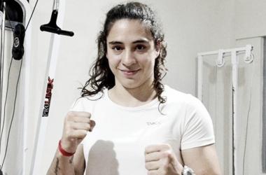 Marzo era una de las figuras más prometedoras del boxeo femenino argentino (Foto: Villa María Noticias)