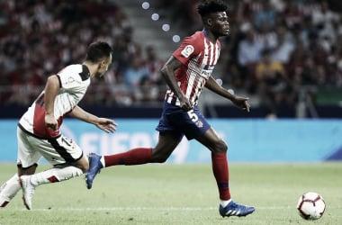 Thomas alcanzó los 100 partidos en el Atlético || FOTO: Club Atlético de Madrid.