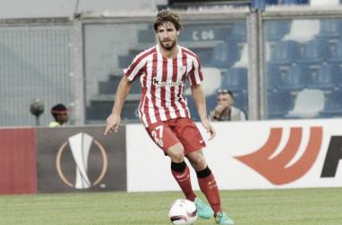 Yeray durante un partido. Foto: Athletic Club