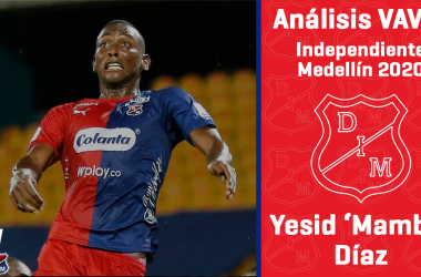 Análisis VAVEL, Independiente Medellín 2020: Yesid Díaz