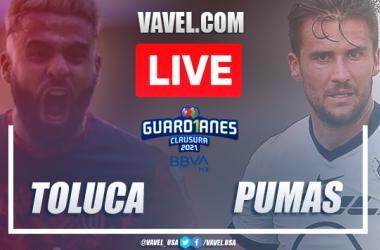 Goals and Highlights Toluca 1-0 Pumas, 2021 Liga MX