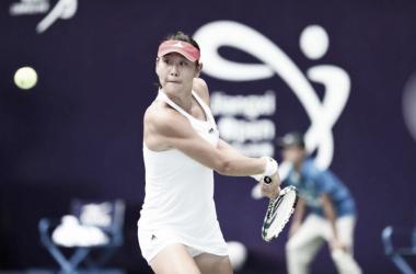 Duan Ying-Ying won her comeback match against Han Xinyun and advanced to quarterfinals [Photo credit: Jiangxi Women's Open]