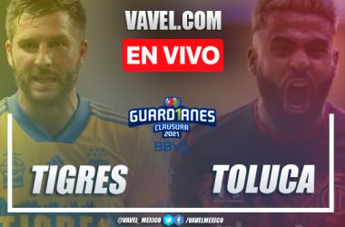 Resumen y gol: Tigres 0-1 Toluca en Liga MX Guard1anes 2021