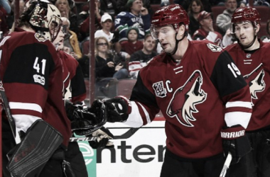Arizona Coyotes' star players Mike Smith and Shane Doan are no longer on the roster, and the team is struggling. (Photo: the 4th line podcast)
