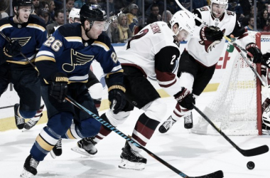 Arizona Coyotes finally defeat the St. Louis Blues after losing 12 straight to them. (Photo: nhl.com)