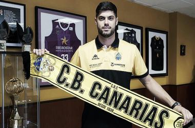 Santi Yusta llega al CB Canarias / cbcanarias.net