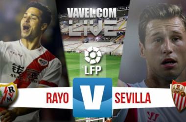 Resultado Rayo Vallecano x Sevilla no Campeonato Espanhol 2015/16 (2-2)
