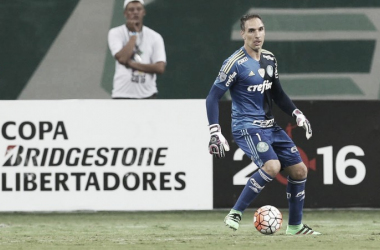 Palmeiras joga mal e perde para o Nacional; Prass reclama da arbitragem (Foto: Palmeiras/Divulgação)