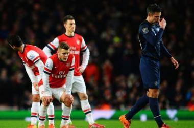 Arsenal e Manchester United empatam no Emirates em um jogo fraco