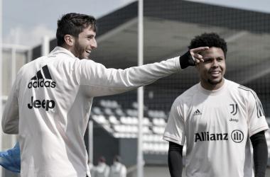 Rodrigo Bentancur se recupera da Covid-19 e fica à disposição da Juventus
