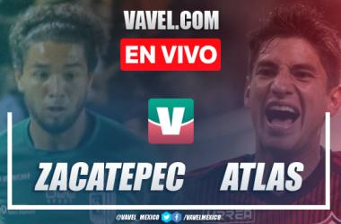 Resultado y goles Zacatepec 3-2 Atlas en Copa MX Apertura 2019