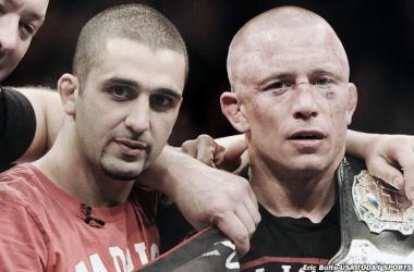 Zahabi habló sobre lo que serían dos mega-peleas (Foto: Eric Bolte - USA Today Sports)
