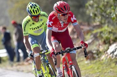 Zakarin remporte la 6e étape du Paris-Nice (Crédit : Twitter @cronoescalda)