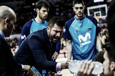 """Zamora: """"Estoy jodido, para seguir en la ACB hay que ganar"""""""