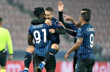 Basta un tempo all'Atalanta: schiantato il Midtjylland 4-0