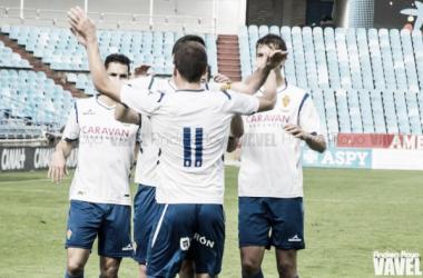 Sufrida y trabajada victoria que mete al Deportivo Aragón en semifinales