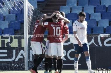 El Nàstic golea y manda a la UVI al Real Zaragoza B (Foto: Belén Sancho | VAVEL).