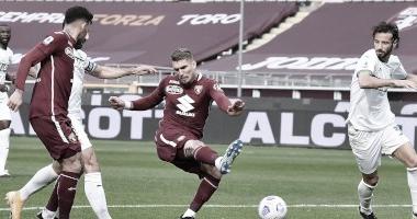 Torino consegue grande virada para cima do Sassuolo na Serie A